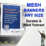 Mesh Viynl Banner