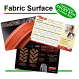 Fabric surface short run