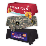 dye sublimated  table throws