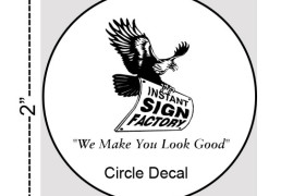 Circle Decals