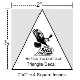 Triangle Decals