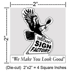 Die Cut / Custom Cut Decals