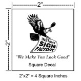 Square Decal